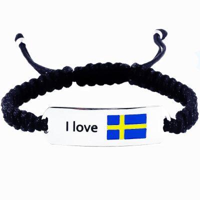 Sweden Flag Bracelet - Flags Jewellery