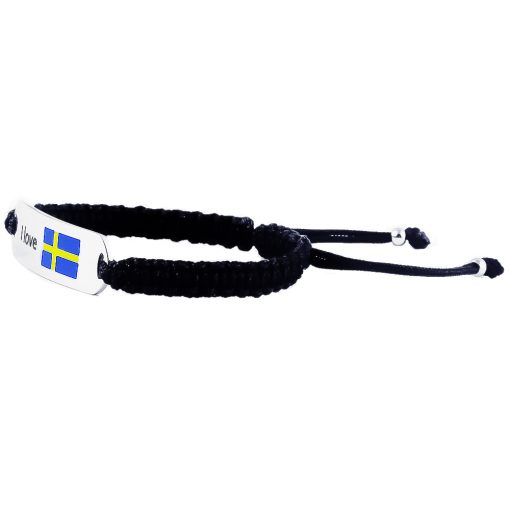 Sweden Flag Bracelet - Flags Jewellery Left