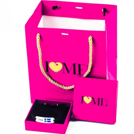 Sweden Flag Bracelet - Flags Jewellery Box