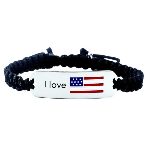 USA Flag Bracelet - Flags Jewellery