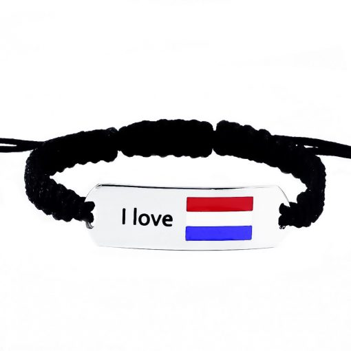 Netherlands Flag Bracelet - Flags Jewellery
