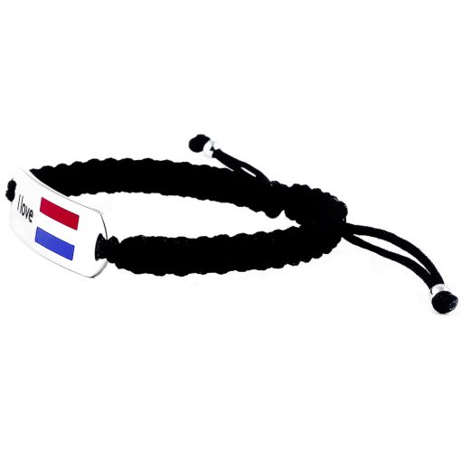 NL Flag Bracelet - Flags Jewellery Left