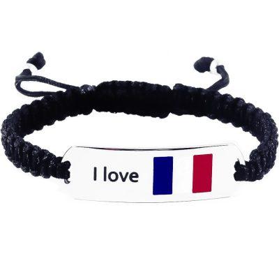 France Flag Bracelet - Flags Jewellery
