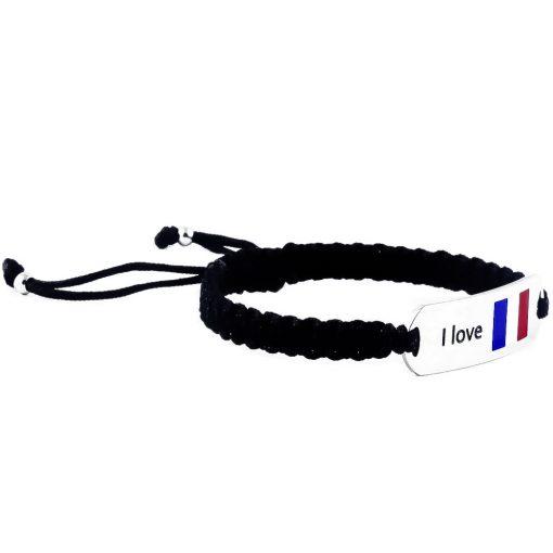 France Flag Bracelet - Flags Jewellery Right