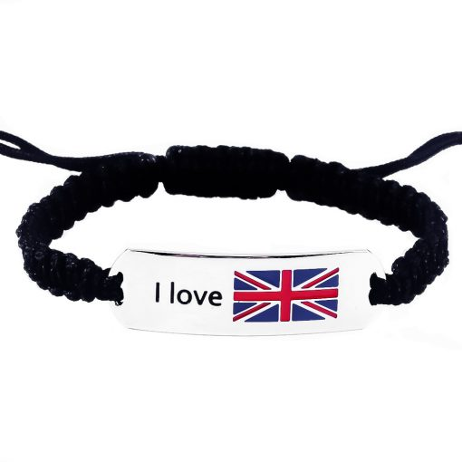 UK Flag Bracelet - Flags Jewellery