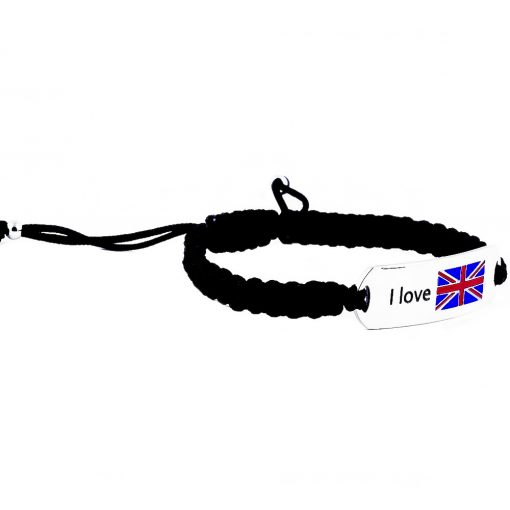 UK Flag Bracelet - Flags Jewellery Right