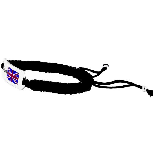 UK Flag Bracelet - Flags Jewellery Left
