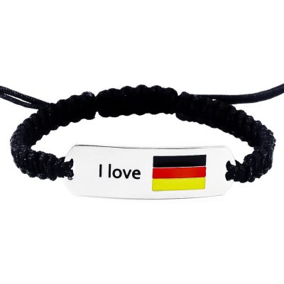 Germany Flag Bracelet - Flags Jewellery