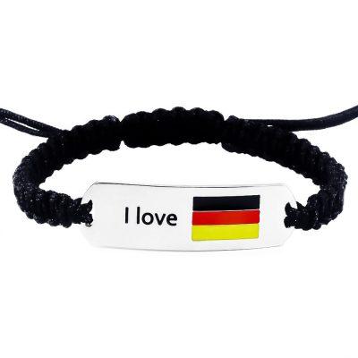 Germany Flag Bracelet - Flags Jewellery