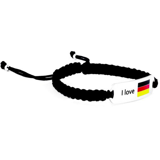 Germany Flag Bracelet - Flags Jewellery Right
