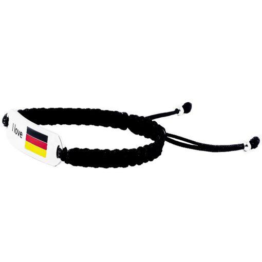 Germany Flag Bracelet - Flags Jewellery Left