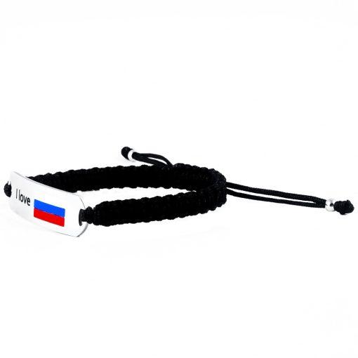 Russia Flag Bracelet - Flags Jewellery Left