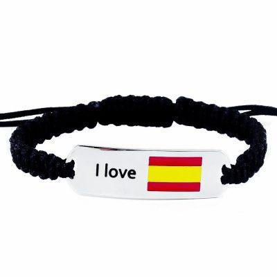 Spain Flag Bracelet - Flags Jewellery