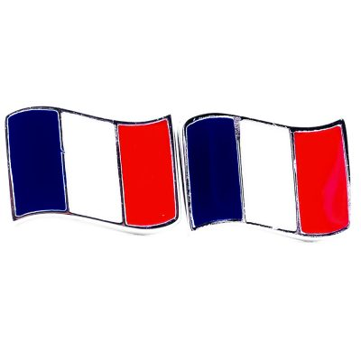 France Flag Shape Earrings - Flags Jewellery