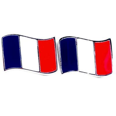France Flag Shape Earrings - Flags Jewellery