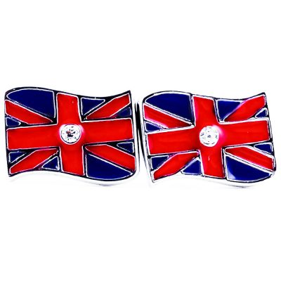 UK Flag Shape Earrings - Flags Jewellery