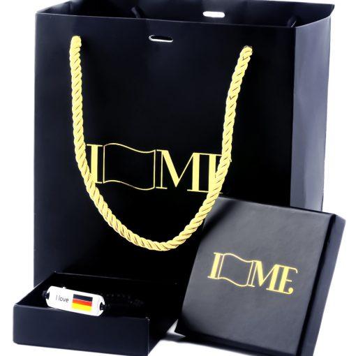 Germany Flag Bracelet - Flags Jewellery Box