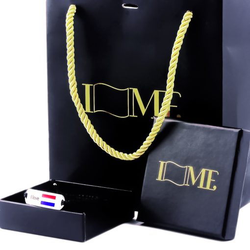 NL Flag Bracelet - Flags Jewellery Box